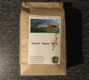 Coffee Beans Decaf--Texas Dark Roast